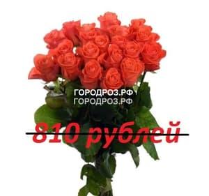 Букет из 9 коралловых роз