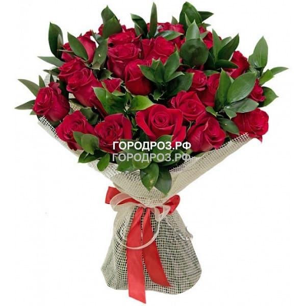 Сборный букет с розами