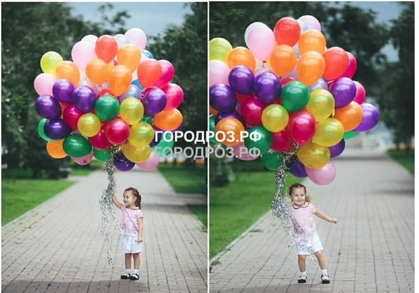 Ассорти разноцветных шаров