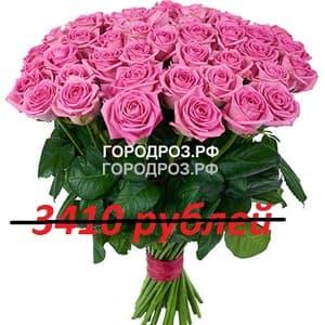 Букет из 31 розовой розы