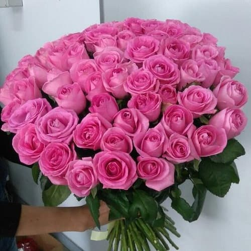 Букеты из 75 роз