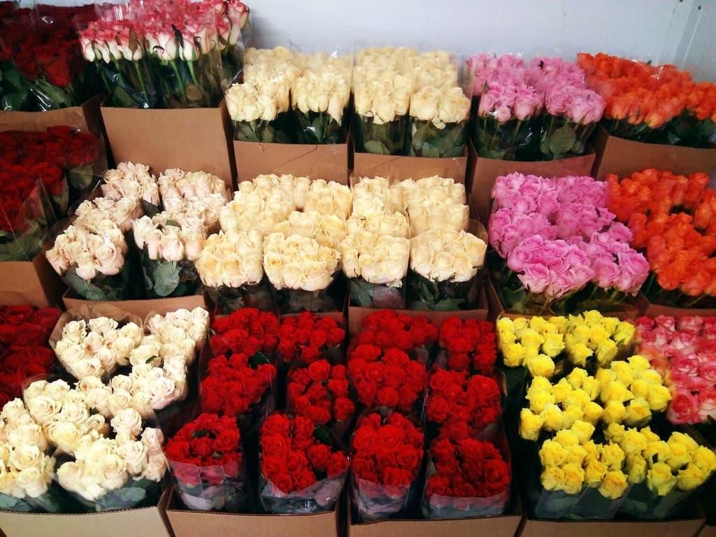 Заказывайте розы по количеству с доставкой по Москве
