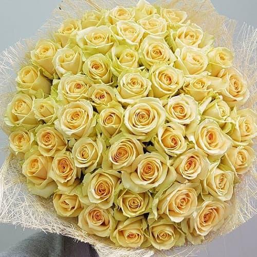 Букеты из 85 роз