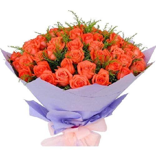 Букеты из 55 роз