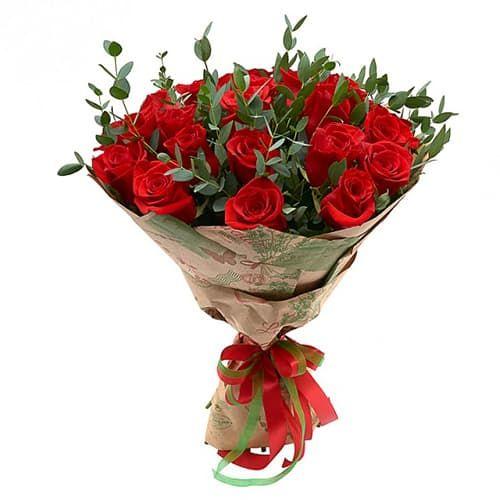 Букеты из 19 роз